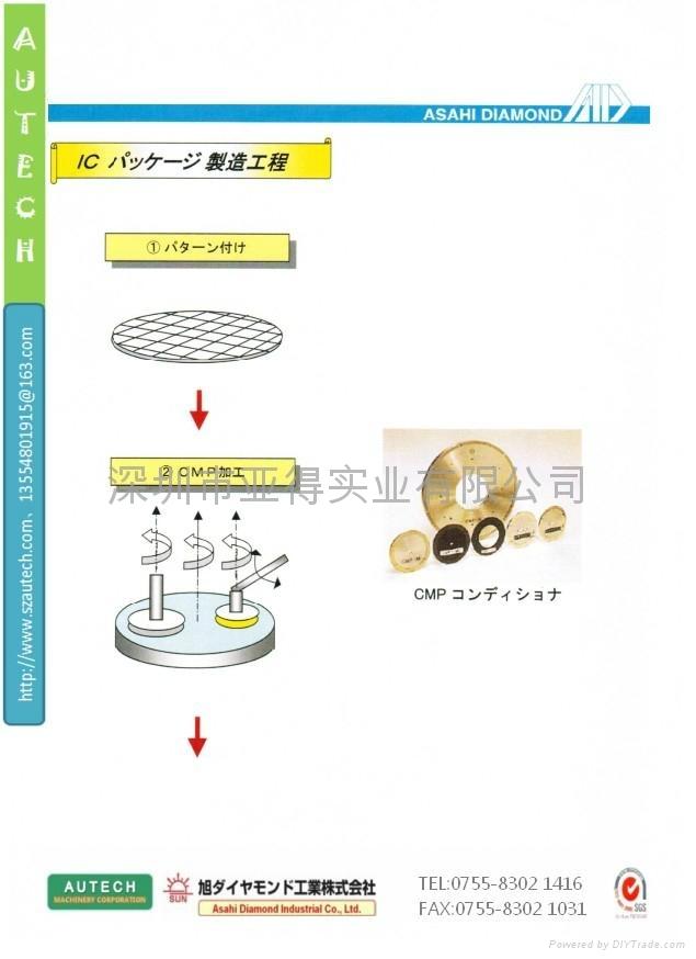 半导体制造流程 SUN DIAMOND WHEEL