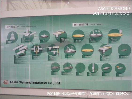日本旭金刚石电镀线 SUN DIAMOND