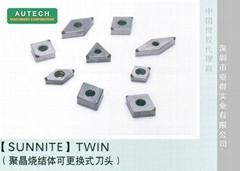 日本旭金刚石聚晶刀头,可更换式