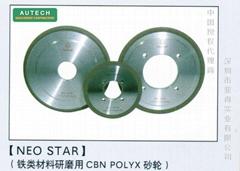 日本旭金剛 NEO STAR 鐵工研磨用CBN Polyx
