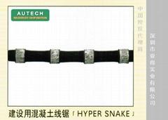 日本耐磨损石材切断用金刚石绳锯