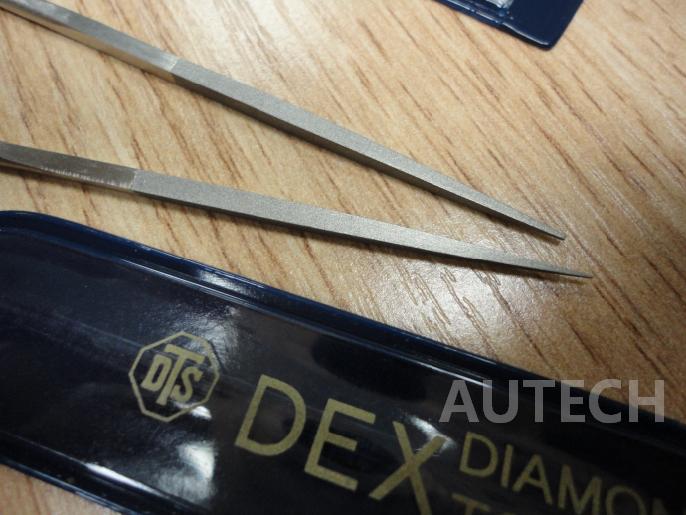 日本东京牌DTS精磨#800四角形锉刀 Tokyo Diamond Files