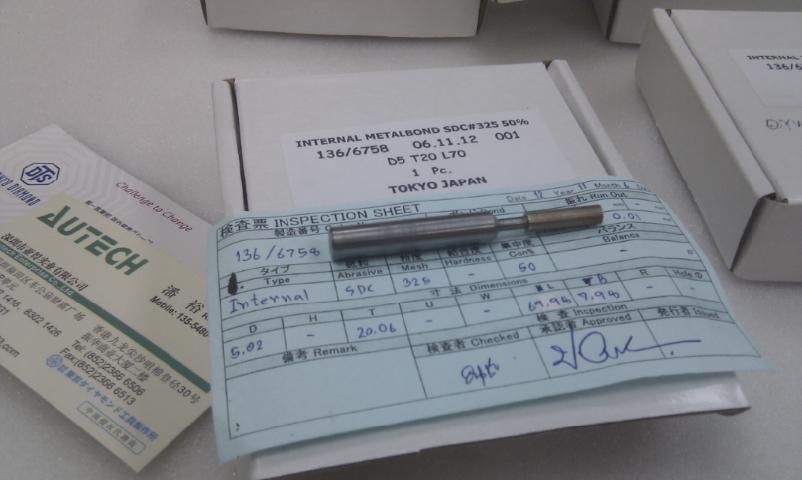 日本DTS東京鑽石耐磨型金屬結合劑鑽頭TokyoDiamond Metal bond drills