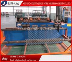 Diamond Wire Mesh (Chain Link Fence) Machine
