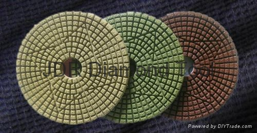 3 Step Diamond Polishing Pads 2