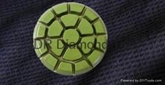 3 Step diamond floor pads