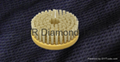 Round diamond brush