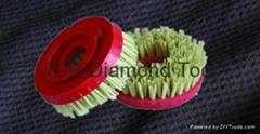 Snail lock diamond brush