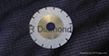U-slot Electroplated diamond blades with