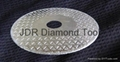 Pyramid Vanity diamond blades