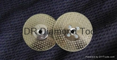 Pyramid Electroplated Diamond blades with flange