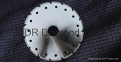 V slot Electroplated diamond blades