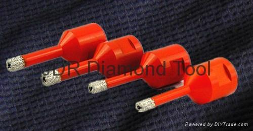 Vacuum Brazed diamond core drill bit  1