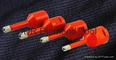 Vacuum Brazed diamond core drill bit