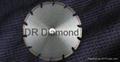 Wide U Slot Diamond blade