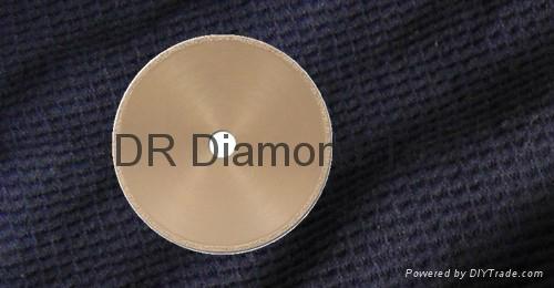 Vacuum brazed Rim diamond blades
