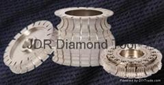 VB diamond profile wheels