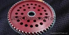 Sintered Diamond milling wheels