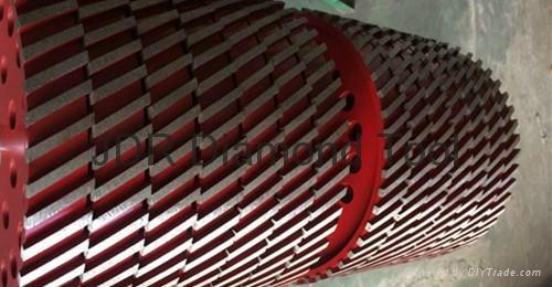 Sintered Diamond milling wheels 2