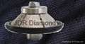 VB Diamond router bit for angel grinder