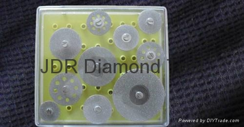 EP Diamond mini cutting blade Set 10 pcs