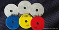3 step Engineered stone polishing pads