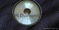 12 A2 Diamond grinding wheel with two diamond layers