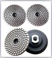 Metal Bond Flexible Diamond Polishing Pads , Granite Polishing Pads