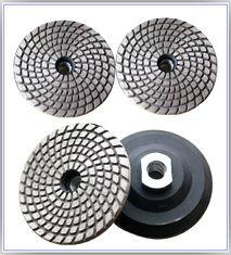 Metal Bond Flexible Diamond Polishing Pads , Granite Polishing Pads