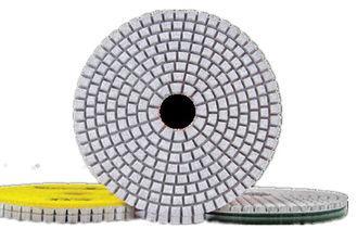 High Efficiency Diamond Polishing Pads , 4 Inch 3 Step Diamond Granite Polishing 1