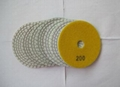 3mm Thickness Diamond Flexible Polishing Pad Wear Resistance
