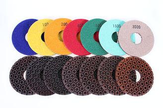 "Resin Copper Bond Diamond Polishing Pads , 4"" / 5"" Angle Grinder Polishing Pad"