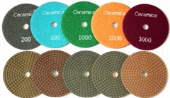 Ceramica Wet diamond polishing pads