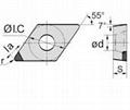 DCGW PCBN Turning Insert  2