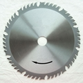 TCT Circular Saw Blades with combination teeth group + chip limiting device