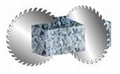 TCT Circular Saw Blades for cutting non-ferrous metals.
