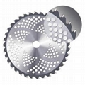 TCT Circular Saw Blades with insert lock teeth for grass cutting