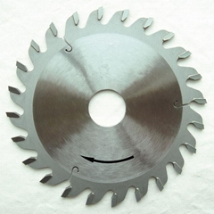 Scoring TCT Circular Saw Blades for sectioning machines, with conical teeth