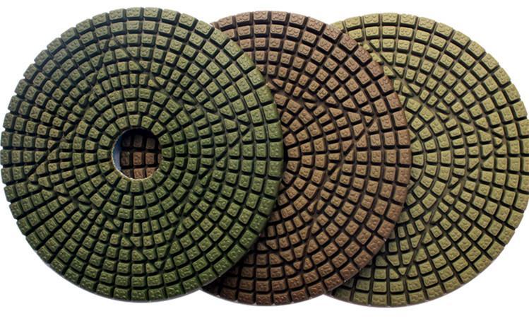 3 step Engineered stone polishing pads 1