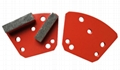 Blastrac diamatic concrete diamond grinding pads for flooring