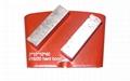 HTC diamond tools floor concrete grinding pads  3