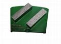 HTC diamond tools floor concrete grinding pads  4