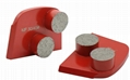 metal diamond lavina grinding tools for concrete or terrazzo