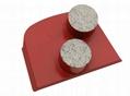 metal diamond lavina grinding tools for concrete or terrazzo