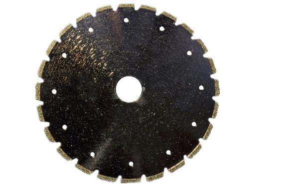 V slot Electroplated diamond blades