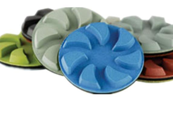 3 Inch Resin bonded floor pads 3