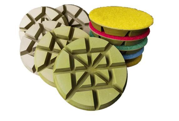 3 Inch Resin bonded floor pads 4