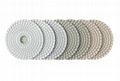 3mm Thickness 4 Inch Diamond Flexible Polishing Pad Wear Resistance