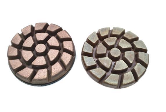 Copper diamond floor pad 1