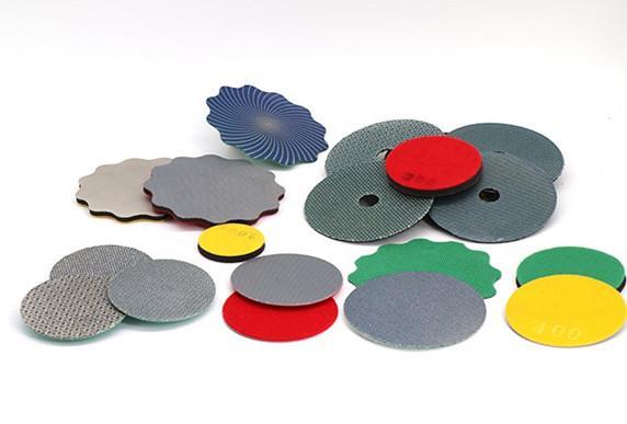 Electroplated diamond polishing pads 1